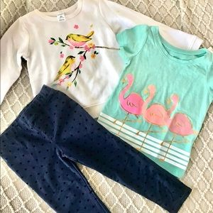 2T toddler girls outfit